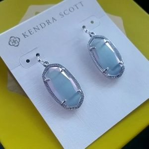 Kendra Scott Iridescent Slate Dani earrings